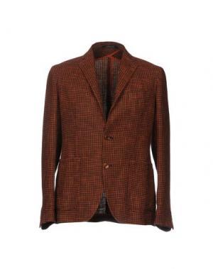 Пиджак TAGLIATORE. Цвет: ржаво-коричневый