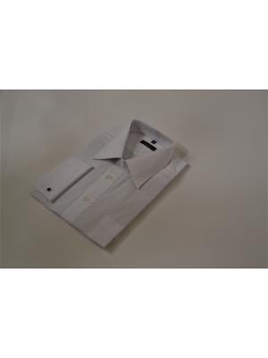 Сорочка под запонку с принтом Sergio Bellini. Цвет: белый