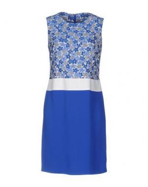 Короткое платье PIU' &. Цвет: синий