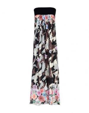 Длинное платье FRANCESCA CONOCI. Цвет: черный