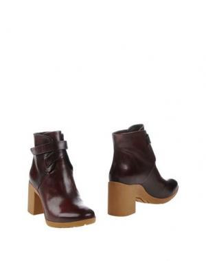 Полусапоги и высокие ботинки ATELJÉ 71. Цвет: красно-коричневый