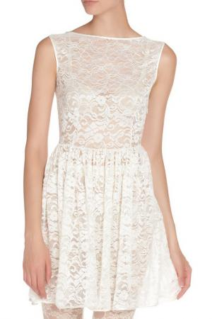 Платье American Apparel. Цвет: белый