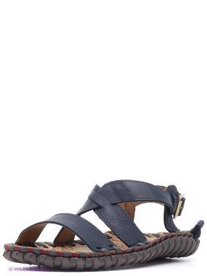 Сандалии Nexpero. Цвет: темно-синий