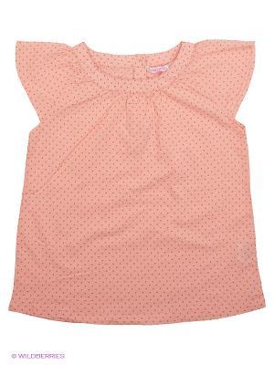 Блузка Modis. Цвет: бледно-розовый, темно-бежевый