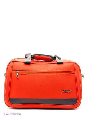 Сумка в полет Verage. Цвет: оранжевый