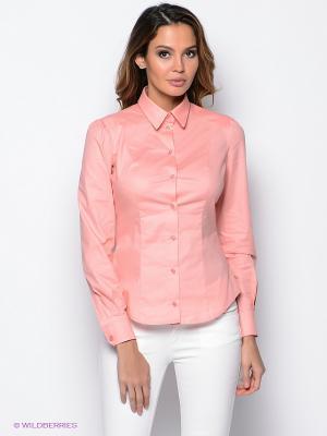 Рубашка PROFITO AVANTAGE. Цвет: светло-коралловый