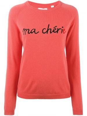 Кашемировый свитер Ma Cherie Chinti & Parker. Цвет: красный