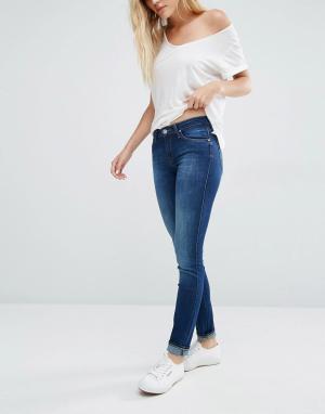 Lee Зауженные джинсы Scarlett. Цвет: синий