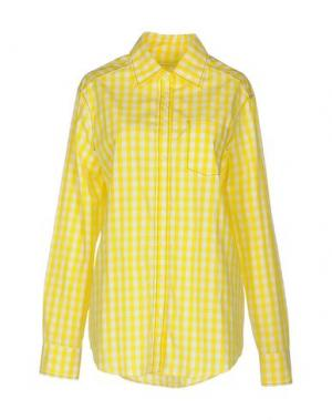 Pубашка JUST IN CASE. Цвет: желтый