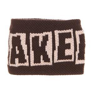 Напульсники  Brand Logo Brown Baker. Цвет: коричневый