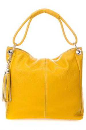 Сумка Lisa minardi. Цвет: yellow