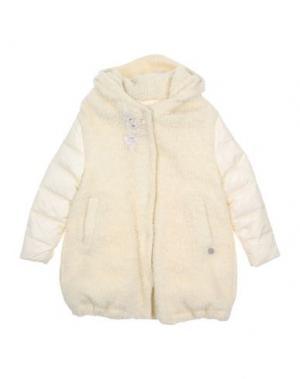 Куртка PARROT. Цвет: слоновая кость