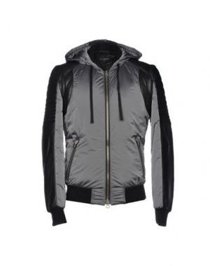 Куртка YES LONDON. Цвет: свинцово-серый