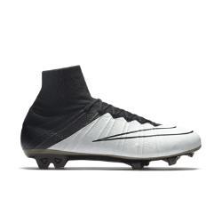 Мужские футбольные бутсы для игры на твердом грунте  Mercurial Superfly Leather Nike. Цвет: кремовый