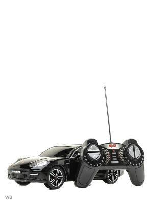 Машина р/у Porsche Panamera Turbo 1:18 HOFFMANN. Цвет: черный