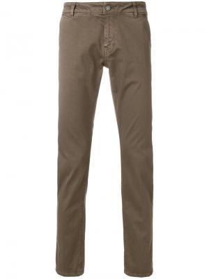Классические брюки-чинос Pt05. Цвет: коричневый