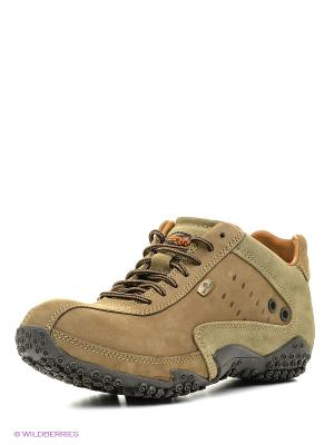 Спортивные ботинки WOODLAND. Цвет: хаки