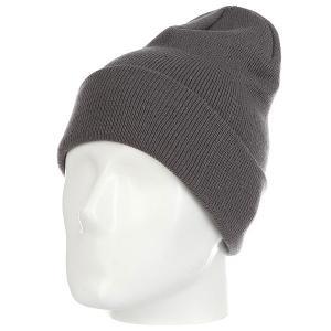 Шапка носок  Ff Fold Dark Grey Les. Цвет: серый