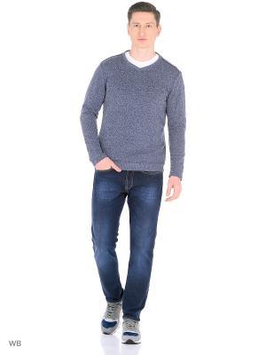 Джемпер Magwear. Цвет: серо-голубой