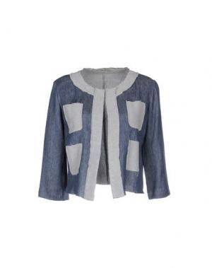Пиджак ALYSI. Цвет: синий