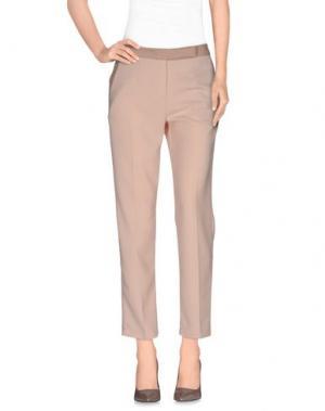 Повседневные брюки BONSUI. Цвет: бежевый
