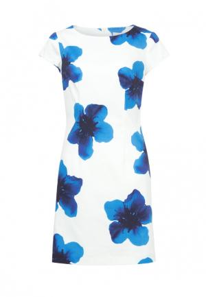 Платье Emka. Цвет: белый