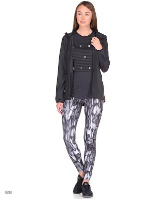 Куртка W NK ESSNTL JKT HD Nike. Цвет: черный