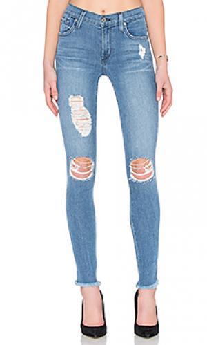 Леггинсы с 5 карманами james twiggy Jeans. Цвет: none