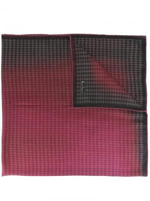 Шарф Marsala Pythagora Berluti. Цвет: розовый и фиолетовый