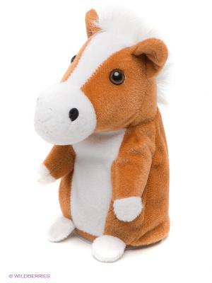 Плюшевая Лошадь Woody O'Time. Цвет: светло-коричневый, белый