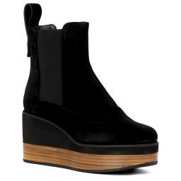 Ботинки  JN27033 черный JIL SANDER NAVY