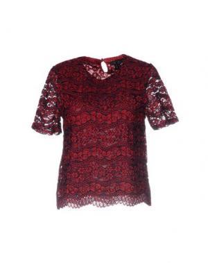 Блузка CUTIE. Цвет: красно-коричневый