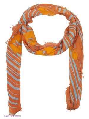 Платок Moltini. Цвет: оранжевый