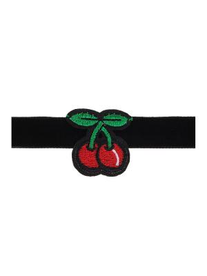 Чокер Olere. Цвет: черный, зеленый, красный