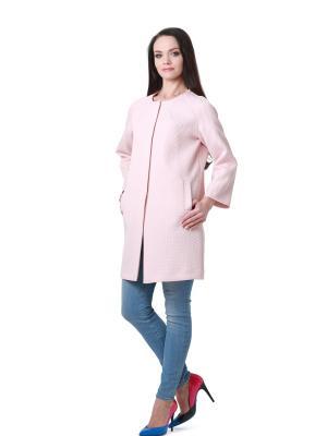Жакет BLAUZ. Цвет: бледно-розовый
