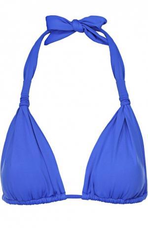 Треугольный бра с декоративной драпировкой Lazul. Цвет: синий
