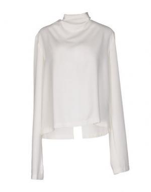 Блузка OFF WHITE C/O VIRGIL ABLOH. Цвет: белый