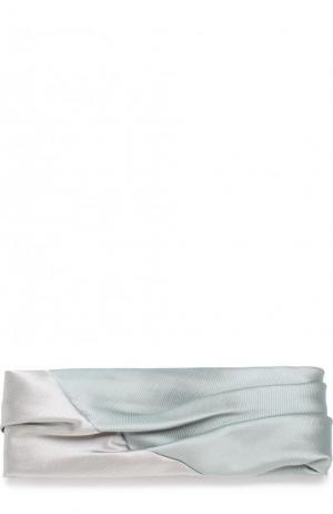 Повязка на голову Eugenia Kim. Цвет: светло-зеленый