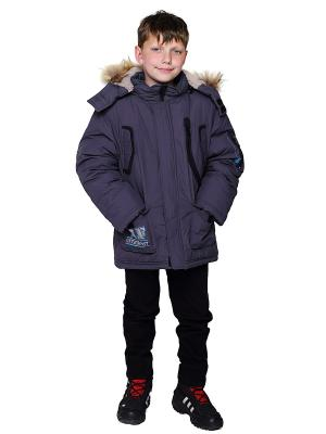 Куртка VELFI. Цвет: антрацитовый