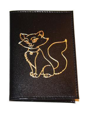 Обложка на паспорт Lola. Цвет: черный