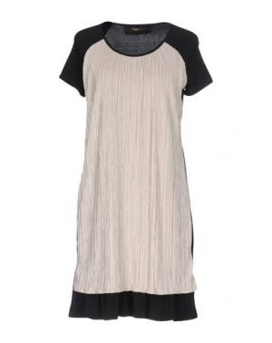 Короткое платье GIORGIA & JOHNS. Цвет: черный
