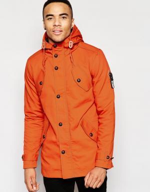 Fly 53 Куртка Burton. Цвет: оранжевый