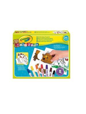 Набор для творчества Мой первый пазл с наклейками Crayola. Цвет: желтый