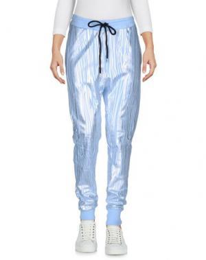 Повседневные брюки MARKUS LUPFER. Цвет: небесно-голубой