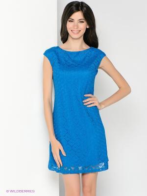 Платье SUGARLIFE. Цвет: синий