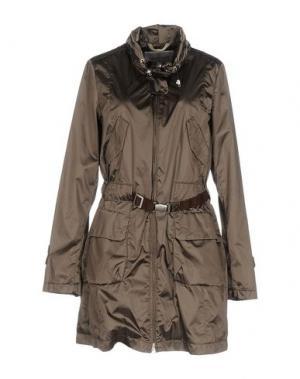 Легкое пальто GEOSPIRIT. Цвет: серый