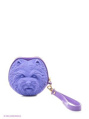 Сумка Adamo 3D Shi Tzu. Цвет: фиолетовый