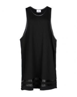 Платье до колена GEORGE J. LOVE. Цвет: черный