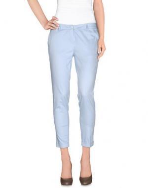 Повседневные брюки FLY GIRL. Цвет: небесно-голубой