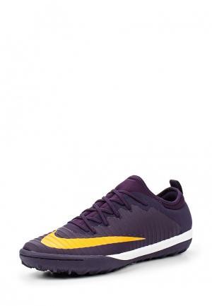 Шиповки Nike. Цвет: фиолетовый